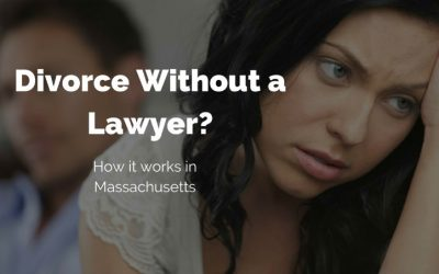 Can I get a divorce without a lawyer in Massachusetts?